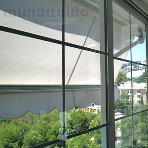 Toldo brazo invisible 1